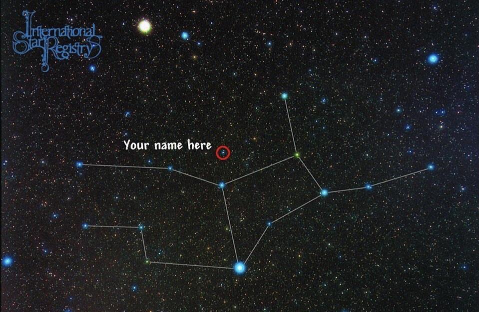 خرید ستاره در آسمان