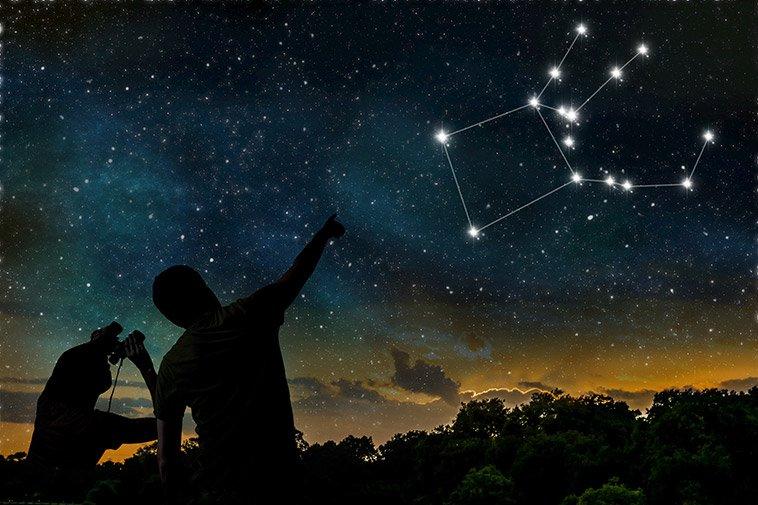 خرید ستاره از صورت فلکی ماه تولد
